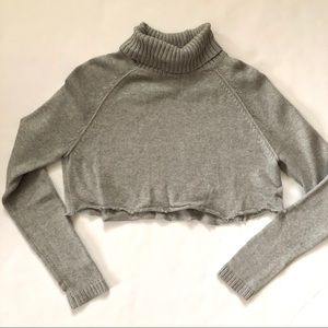 Urban outfitters vintage cropped sweater